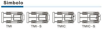 Serie TMIC Cilindro con unità di guida